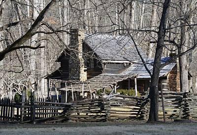 Photograph - John Davis Mountain Farm House by rd Erickson