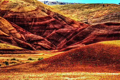 Photograph - John Day Fossil Beds National Monument No. 3 by Roger Passman