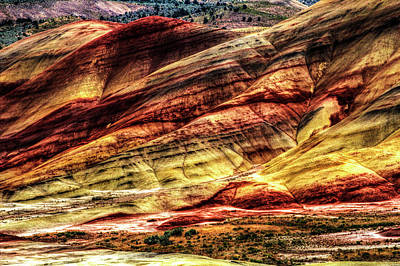 Photograph - John Day Fossil Beds National Monument No. 5 by Roger Passman