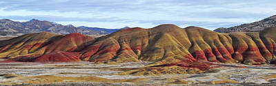 Photograph - John Day Fossil Beds Nm Painted Hills Unit by Roxray