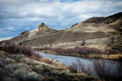 Photograph - John Day River And Sheep Rock by Belinda Greb