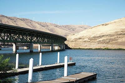 Photograph - John Day River I-84 Bridge by Tom Cochran
