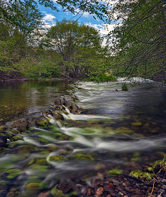 Photograph - John Day River South Fork by Leland D Howard