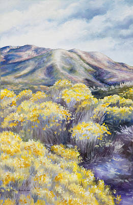 Painting - John Day Valley II  by Patricia Baehr-Ross