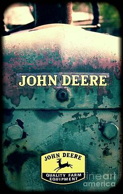 Photograph - John Deer Lean Mean Workhouse Machine #780 by Ella Kaye Dickey