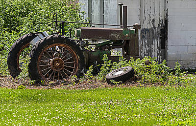 Photograph - John Deer Model A by Edward Peterson
