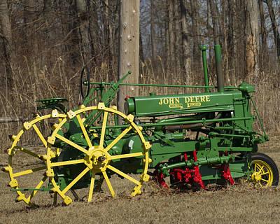 John Deer Tractor Art Print