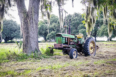 Photograph - John Deer - Work Day by Scott Hansen