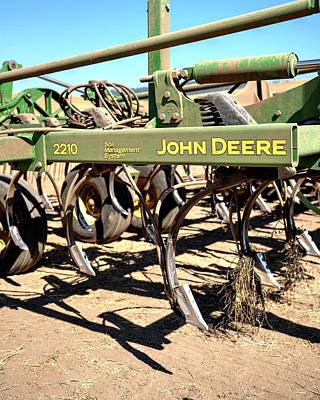 Photograph - John Deere 2210 Sms by Jerry Sodorff