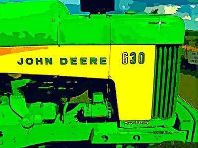 John Deere 630 Art Print by John Gerstner