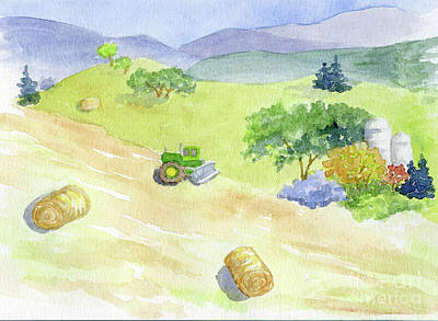Painting - John Deere And Co. by Anne Marie Brown