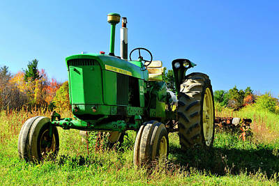Photograph - John Deere Autumn by Luke Moore