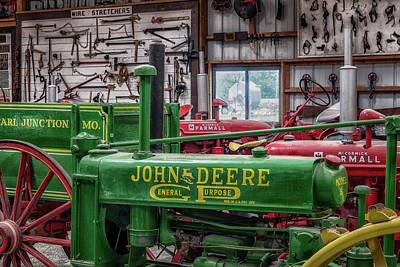 Photograph - John Deere General Purpose by James Barber