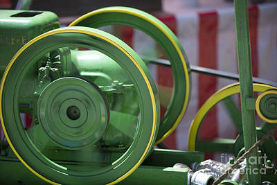 Photograph - John Deere Green by Dale Powell