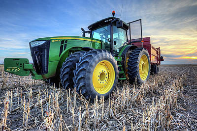 Photograph - John Deere Green by JC Findley