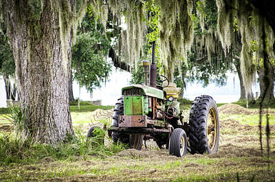 Photograph - John Deere - Hay Day by Scott Hansen