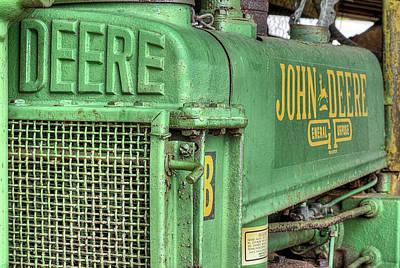 Photograph - John Deere by JC Findley