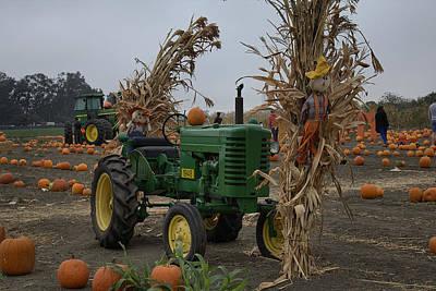 Photograph - John Deere Model M Tractor by Michael Gordon