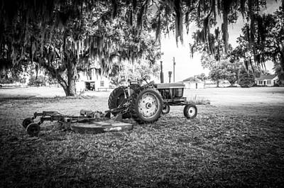 Photograph - John Deere Ready To Mow by Scott Hansen
