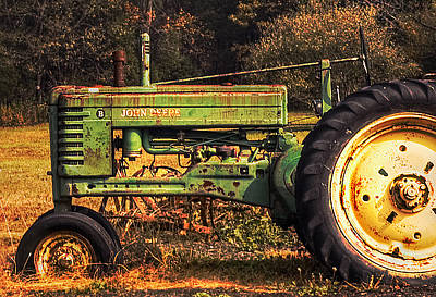 Photograph - John Deere Retired by Mick Burkey