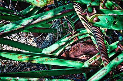 Photograph - John Deere Seed Drill 4 by Cathy Mahnke