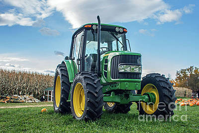 Photograph - John Deere by Tony Baca