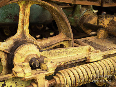 Photograph - John Deere Tractor 08 by Rick Piper Photography
