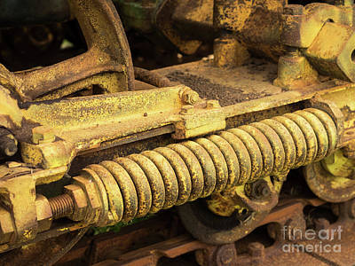 Photograph - John Deere Tractor 09 by Rick Piper Photography