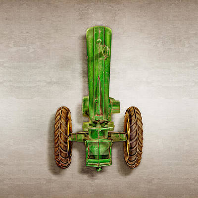 Play Room Photograph - John Deere Tractor Top by YoPedro