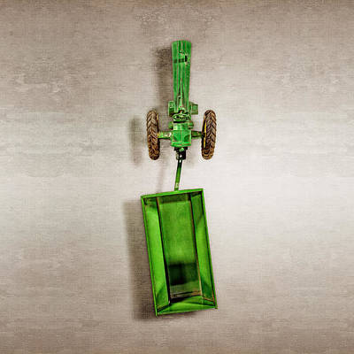 Atomic Photograph - John Deere Wagon Top by YoPedro
