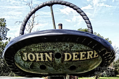 Photograph - John Deere Workhorse Tractor #781 by Ella Kaye Dickey