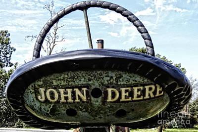 Photograph - John Deere Workhorse Tractor #781 by Ella Kaye Dickey