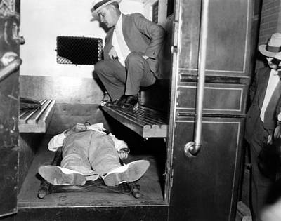 John Dillinger, Dead With Toes Art Print by Everett