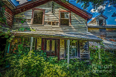 Photograph - John Doesn't Live Here Any More by Roger Monahan