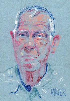 Drawing - John by Donald Maier