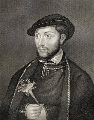 John Dudley, Duke Of Northumberland Print by Vintage Design Pics