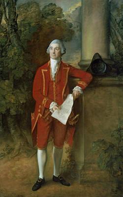 John Eld Of Seighford Hall Stafford Art Print by Thomas Gainsborough