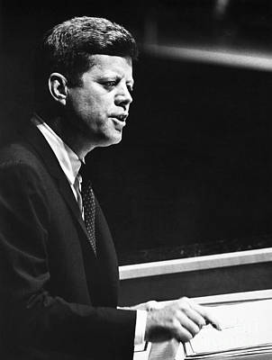 John F. Kennedy, 1961 Art Print