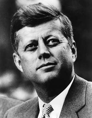 John F. Kennedy Plaza Photograph - John F. Kennedy  C. 1961 by Daniel Hagerman