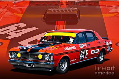 John French Xy Falcon 351 Gtho Art Print
