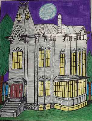 John Henes Home. Art Print