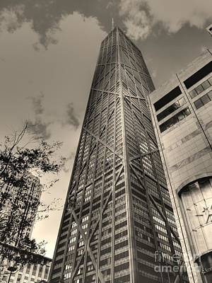 Photograph - John Hancock Building by David Bearden