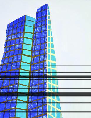 John Hancock Building Art Print by Sean Cusack