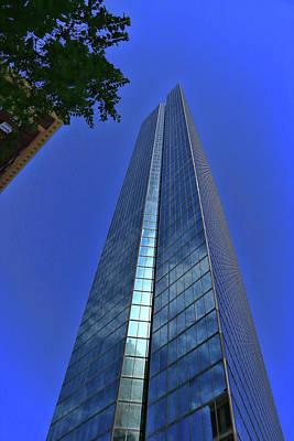 Photograph - John Hancock Tower # 2 - Boston by Allen Beatty