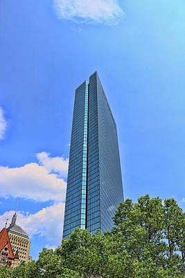 Photograph - John Hancock Tower - Boston by Allen Beatty