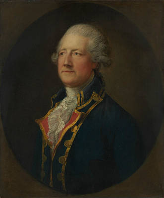 Painting - John Hobart, 2nd Earl Of Buckinghamshire by Thomas Gainsborough