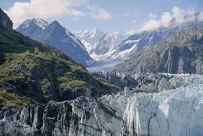 Photograph - John Hopkins Glacier 10 by Richard J Cassato