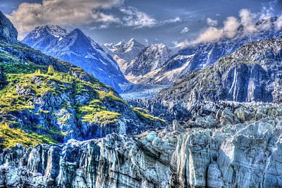 Photograph - John Hopkins Glacier 11 by Richard J Cassato