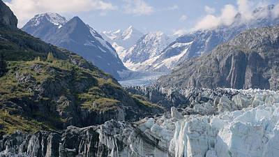 Photograph - John Hopkins Glacier 12 by Richard J Cassato
