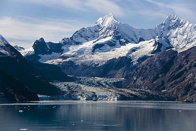 Photograph - John Hopkins Glacier 3 by Richard J Cassato